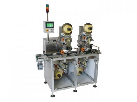 Automatische etiketteermachines - Etiketteermachine Boven Onder: ECM