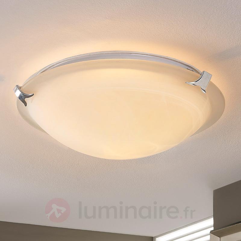 Plafonnier LED rond Genoveva - Plafonniers LED