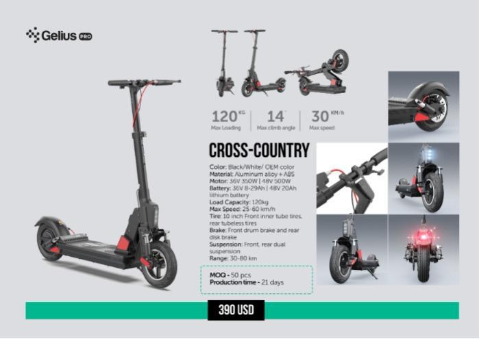 Electro Scooter - Электро Скутер