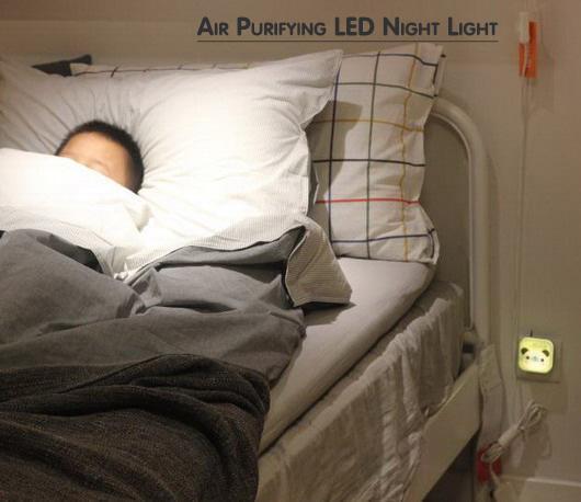 Air Purification LED Night Light  -