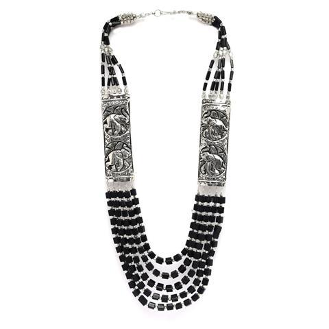 Fashion Handmade Tibetan Necklace  - Zephyrr Fashion Handmade Tibetan Style Necklace for Women with Beads