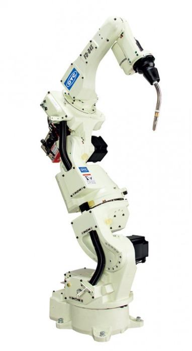 7 Axis-Roboter FD-B4S - Compact 7-axis arc welding robot with integrated cable routing