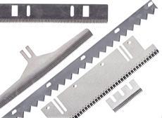 Lame de coupe dentée, perforation, d'ensacheuse… - null
