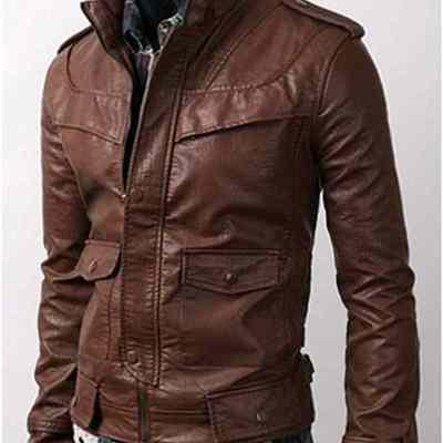 Men's Leather Jackets  -
