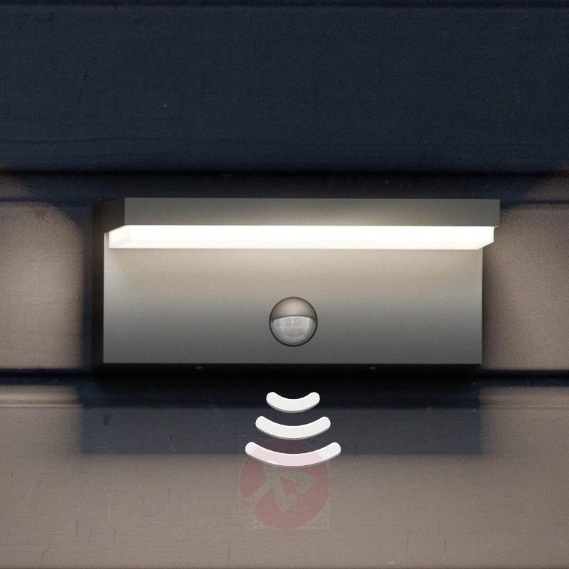 Bustan IR - LED outdoor wall lamp with sensor - Wall Lights with Motion Sensor