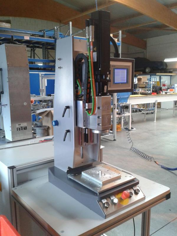 MTV-RSM with boosted torque - Rotation welding machines