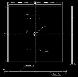 Druckfeste Begasungsplatte / Schießkopfplatten - null