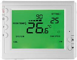 Wireless thermostat for infrared heaters - REM908