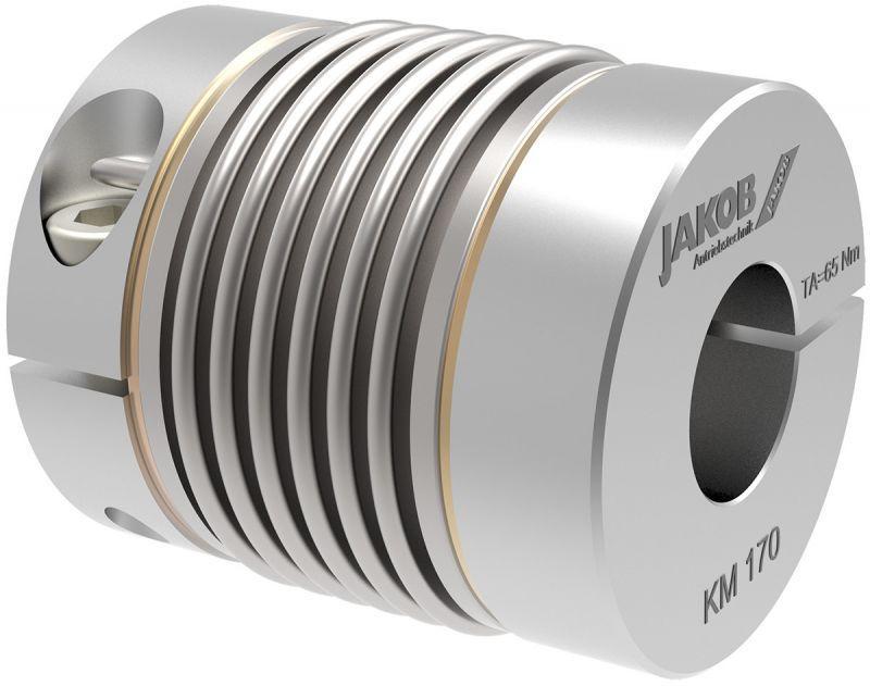Metallbalgkupplung KM - 6-welliger Balg