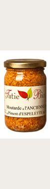 Moutarde à l'Ancienne BIO  - au piment d'Espelette Tatie BIO