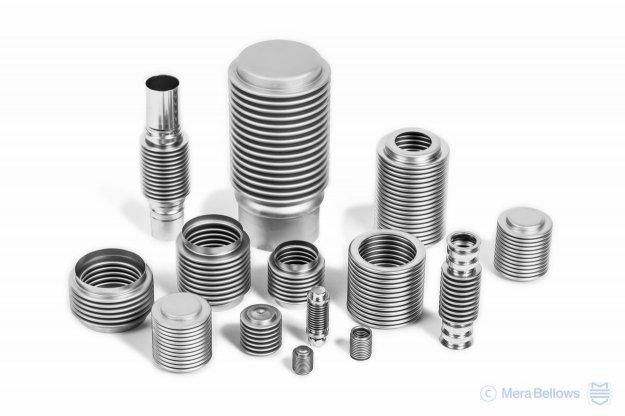 Stainless steel bellows for vacuum interrupters - Thin-walled corrugated bellows for demanding sealing applications
