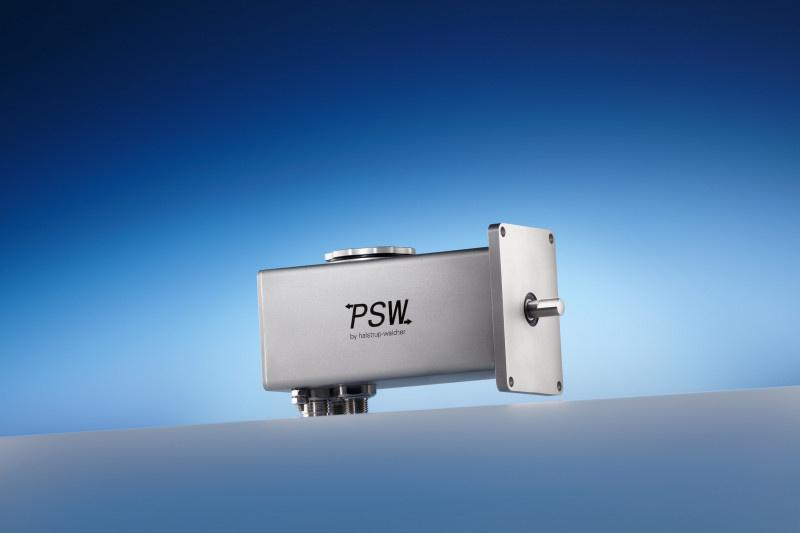 Positioning drive PSW 31_-8 - Compact positioning system with IP 68 for automated format changeovers