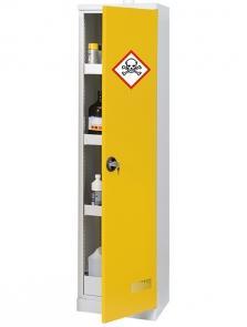 Armoire Sécurisée Multi-produits - Armoire Haute D'1 Porte - Rétention 58 L - ARMSP195-50-Armoires de sécurité simple parois
