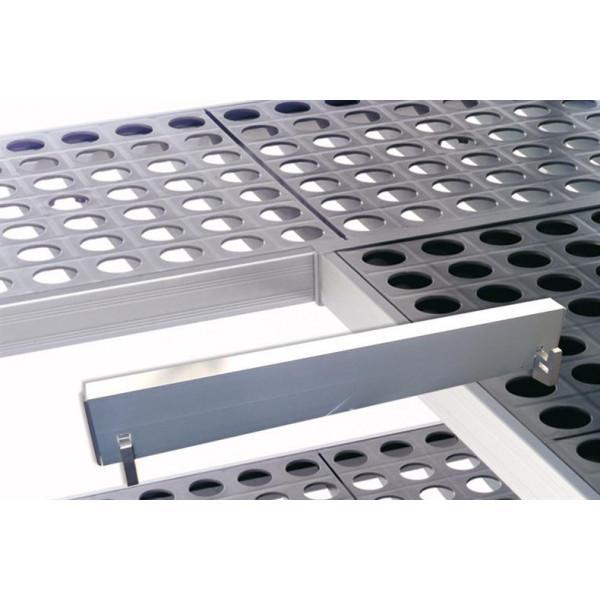 Eckverbindungsleiste - Tiefe 560 mm - Kälte Kühlraum