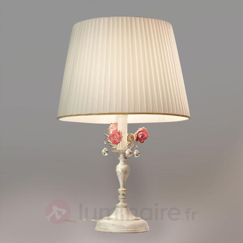 Lampe à poser Fiore de style florentin - Lampes à poser style florentin