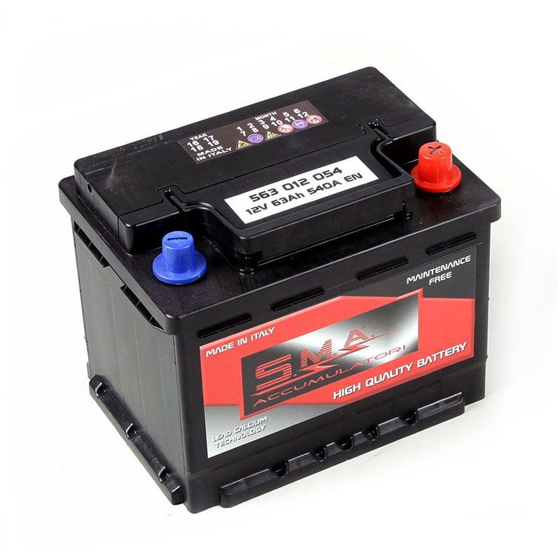 Batteria Auto L2  63AH Serie DIN - Produzione Batterie per Auto