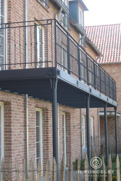 Balcon - Ferronnerie