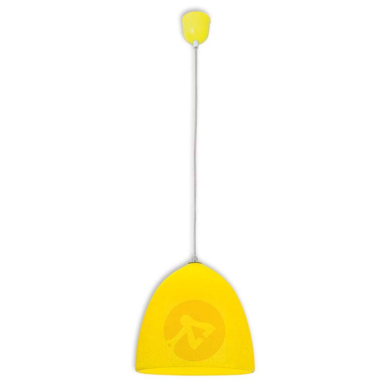 Yellow silicon pendant light Fancy - Pendant Lighting