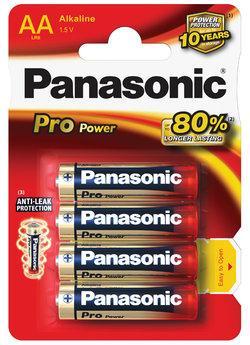 Batterie stilo Alcaline Pro Power 4 pz - LR6PPG/4BP | Blister da 4 pile AA Panasonic