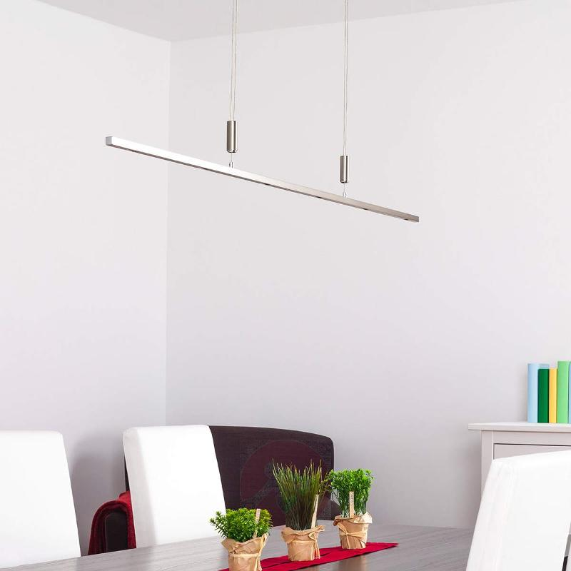 Tolu LED Pendant Lamp, Height-Adjustable 140 cm - Pendant Lighting