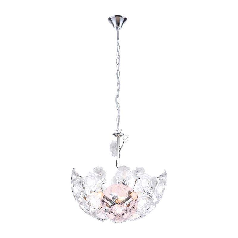 ELLA Pendant Lamp with Great Flower Pattern - Pendant Lighting