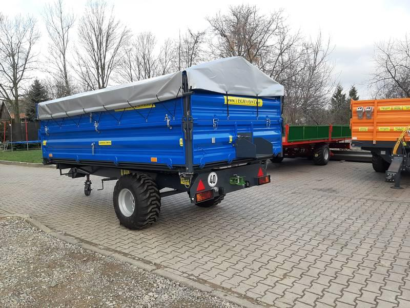 Trailer T-151/2 Load capacity: 5000kg - null