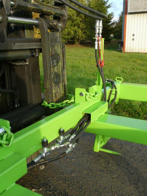 Palonnier hydraulique pour treillis soudés - Accessoires