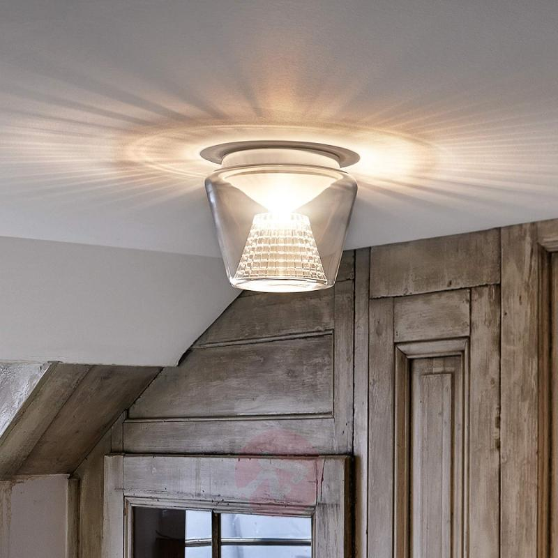 Annex - LED ceiling light with crystal reflector - design-hotel-lighting