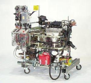 Motores de combustión para ensayos - Montaje y preparación de motores de combustión para ensayos