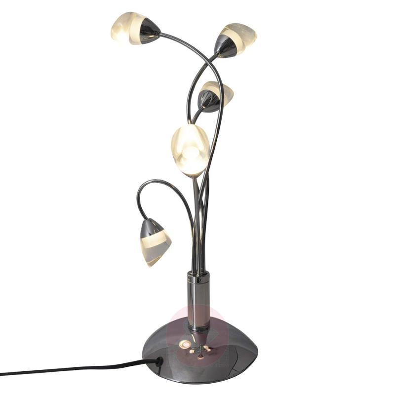 Glossy LED table lamp Felicitas - indoor-lighting