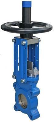 Vanne guillotine unidirectionnelle Modèle KG01 - null