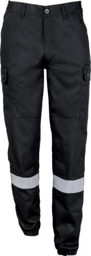 Pantalon Securite Bande Retro-Reflechissantes - null