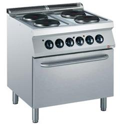 ELECTRIC COOKING RANGE - GAMME MEDIUM 1700 (700)