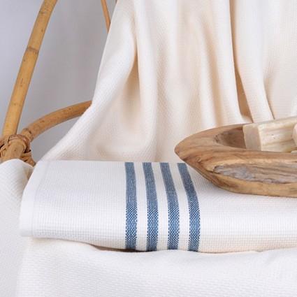 Linge de bain : serviettes et peignoirs - MAXI DRAP DE BAIN DRAP DE BAIN IVOIRE SPA 400G