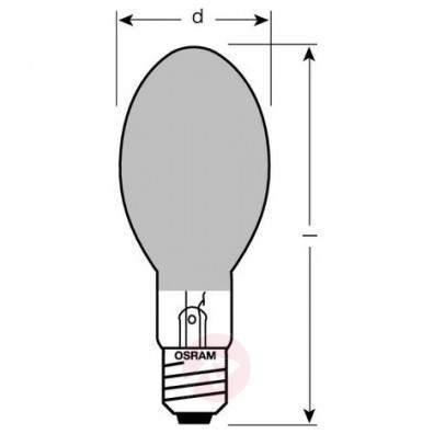 E27 40 W traditional light bulb AGL, green - light-bulbs