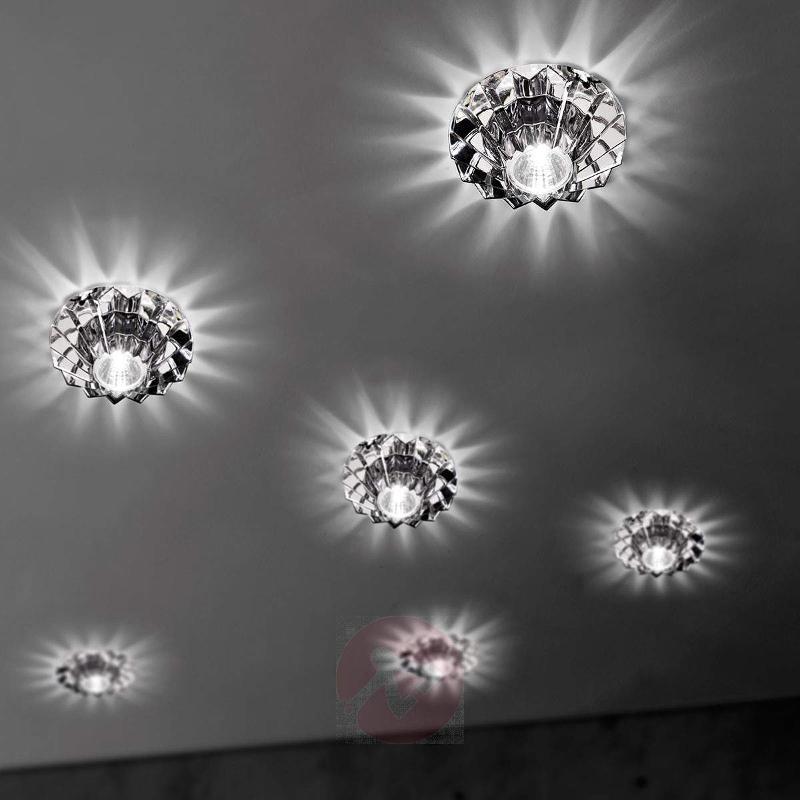 High voltage spotlight Nashir with lead crystal - High-Voltage Spotlights