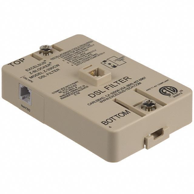 FILTER DSL ANSI WALLMOUNT - Pulse Electronics Network Z-330CW