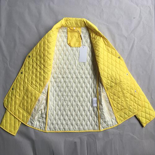 Chaqueta guateada para mujer - Chaqueta guateada para mujer amarilla
