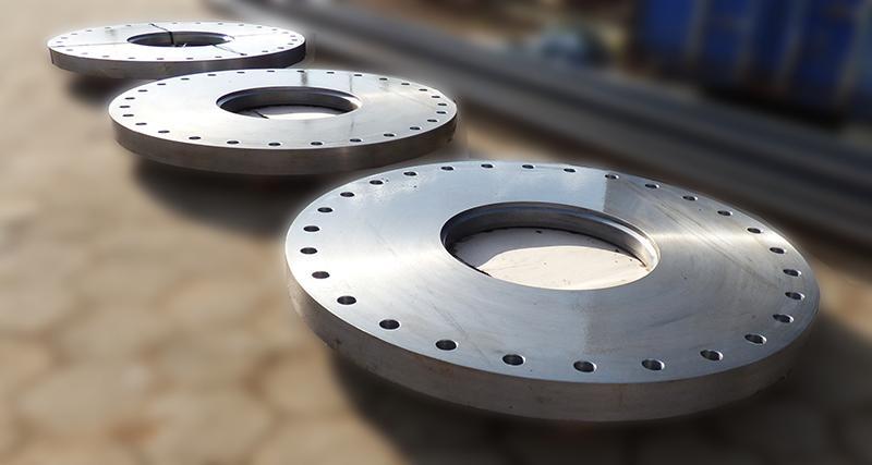 Komponenter af stål -