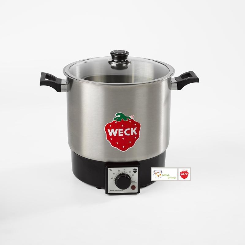 Stérilisateur ménager INOX 10 litres petit modèle Weck avec grille de fond - Stérilisateurs Ménagers et extracteurs de jus WECK