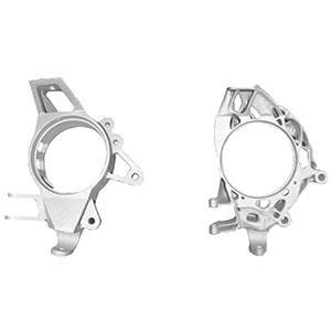 wheel trunk original (l), optimized (r) - High-precision models for lost-wax casting