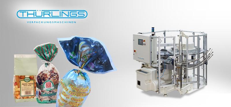 Bag opening and closing machine