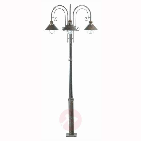 Nautica Mast Lamp, 3 Lamp - Pole Lights