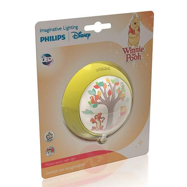 Winnie the Pooh LED night light, motion detector - Plug-In Lights and Night Lights