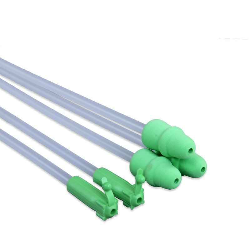 Pig/sow Catheter for pig Artificial Insemination with tail  - Disposable foam tip pig/sow Semen urinary Catheter with tail