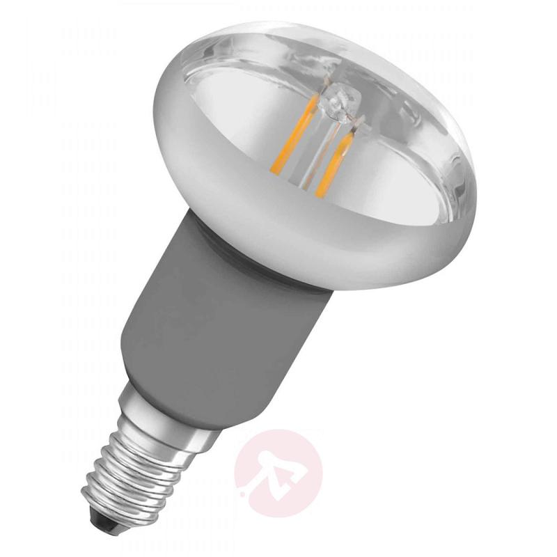 E27 1,6 W 827 LED filament reflector bulb R50 - light-bulbs