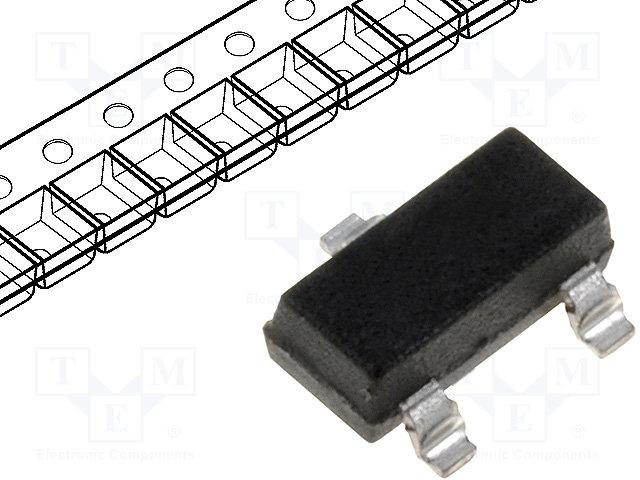 DIODES INCORPORATED BAV23S-7-F - null