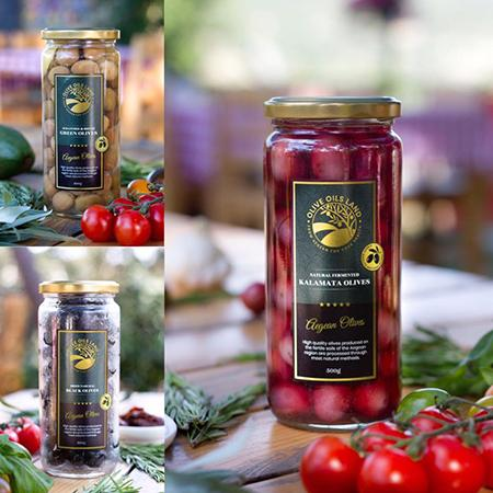 Kalamata Olives  - The Best Quality Turkish Table Olives