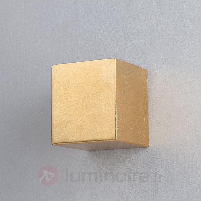 Applique Tabita en métal à surface dorée - Appliques en laiton/dorées