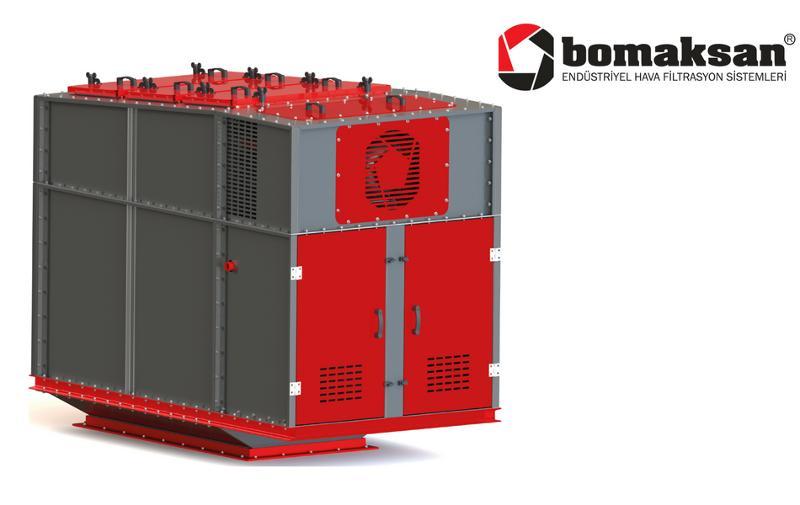 Silo - Above Belt Filter - Industrial Ventilation Devices
